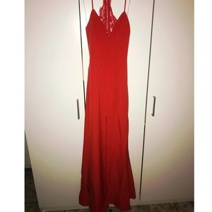 Lovers+Friends red gown